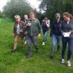 Walking the course with Nick Turner FBHS