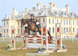 Samantha York at Belton Horse Trials, photo by kind permission of ES Photography